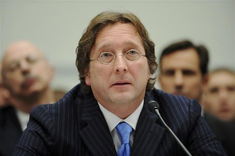 Falcone testifies before a US House Oversight and Government Reform Committee hearing on the regulation of hedge funds, on Capitol Hill in W