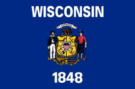 State of Wisconsin flag (courtesy of Wikipedia)