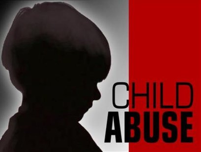 Child abuse graphic