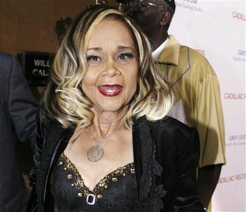 File photo of jazz singer and songwriter Etta James in Hollywood
