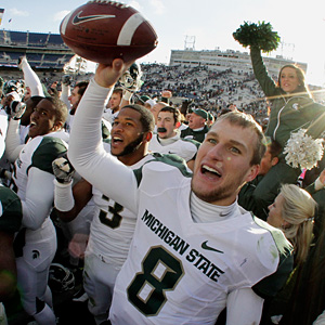 Michigan State QB Kirk Cousins is a graduate of Holland Christian High School.