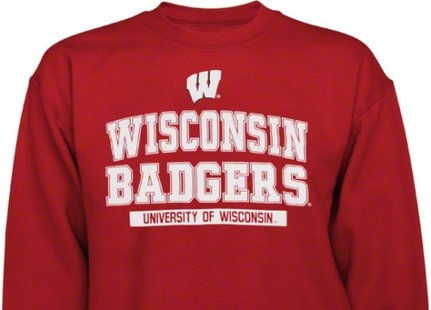 A Wisconsin Badgers sweatshirt