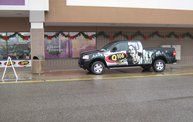 Q106 at Planet Fitness (12/30/11) 12