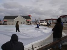 New and better ice rink to open Saturday