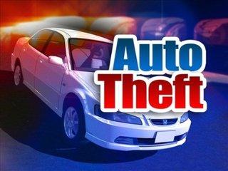 Auto theft graphic
