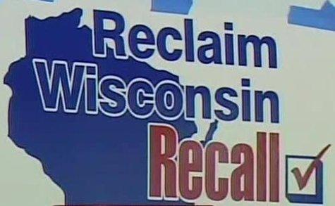 A pro-recall billboard