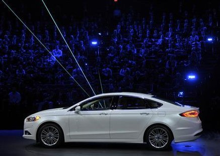 2013 Ford Fusion  Credit: Reuters/Mike Cassese