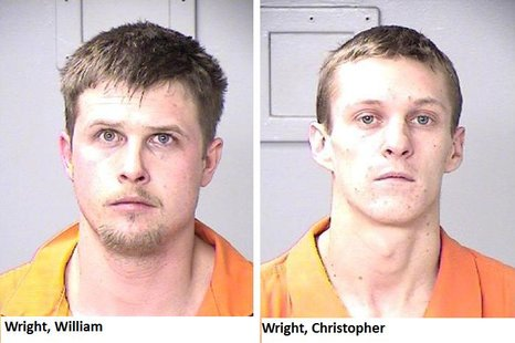 William Wright (left) Christopher Wright (right)