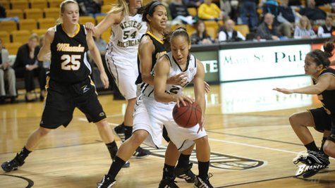 WMU Women's Basketball photo courtesy of Western Michigan University