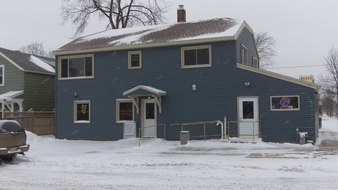 The Denmar bar on Thomas Street in Wausau, taken 1/12/12