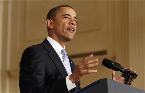 Obama speaks about government reform in Washington
