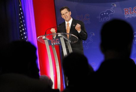 U.S. Senator DeMint speaks during the Republican Leadership Conference in New Orleans