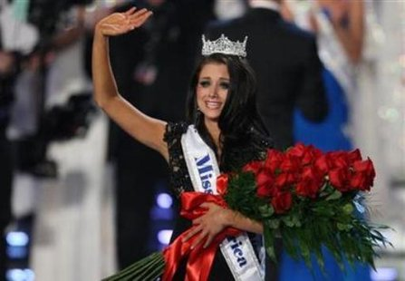 Miss America 2012 Laura Kaeppeler of Kenosha (Reuters)
