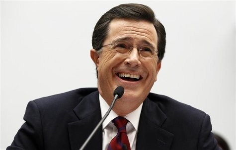 Colbert testifies on Capitol Hill in Washington