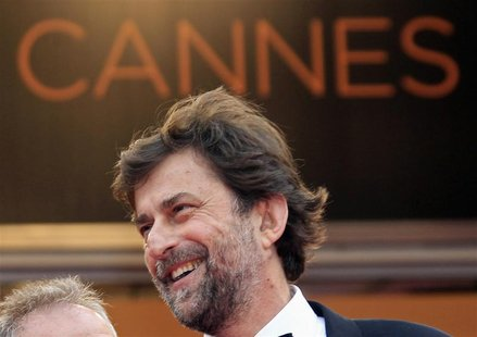 Director Nanni Moretti arrives on the red carpet for the screening of the film Habemus Papam in competition at the 64th Cannes Film Festival