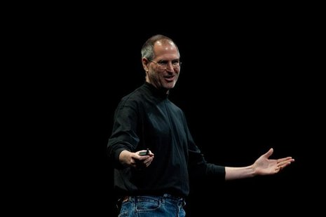 Steve Jobs, Apple's Chief Executive Officer, speaks at the company's World Wide Developers Conference in San Francisco