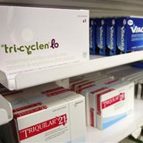 A box of Tri-Cyclen Lo birth control medication for women is seen in a pharmacy in Toronto