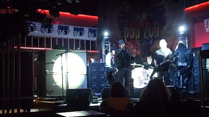 Pop Evil getting set to rock Bruiser's