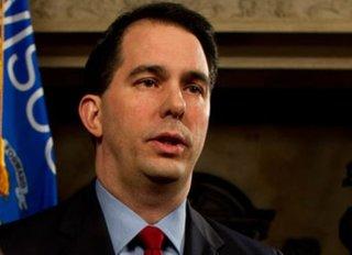 Wisconsin Governor Scott Walker (R) - Reuters