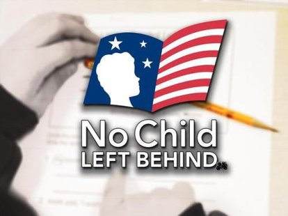 No Child Left Behind graphic