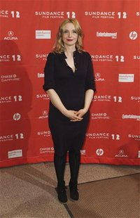 "Cast member and director Julie Delpy arrives for the premiere of the film ""2 Days in New York"" during the Sundance Film Festival in Park Cit"