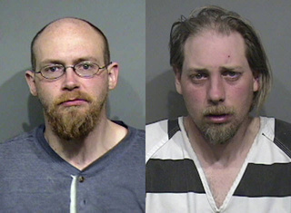 Robert L. Saurbeir (L) and James V. Loewe (Photos courtesy Calumet Co. Sheriff's Dept.)