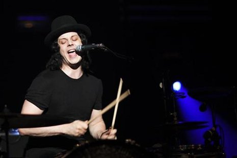 White from rock band The Dead Weather performs during the 44th Montreux Jazz Festival in Montreux