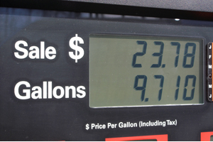Gas prices drop slightly