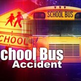 School bus accident graphic