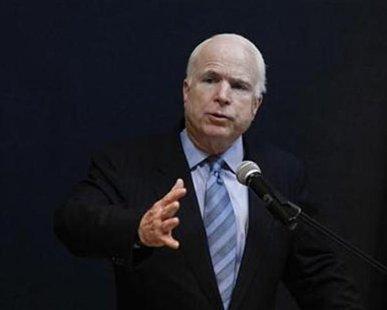 US Senator John McCain (R-Arizona). REUTERS/Soe Zeya Tun