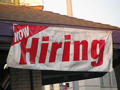 Now Hiring Sign
