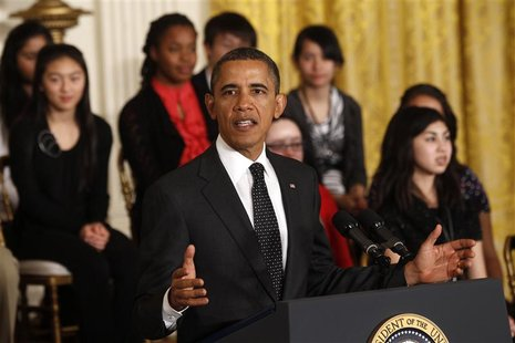 Obama hosts student science fair in Washington