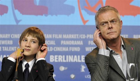 Cast member Horn and director Daldry attend news conference to promote movie 'Extremely Loud And Incredibily Close' at 62nd Berlinale Intern