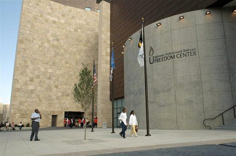 File photo of the Freedom Center in Cincinnati