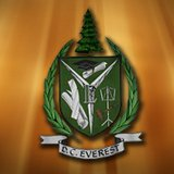The logo of the DC Everest school district