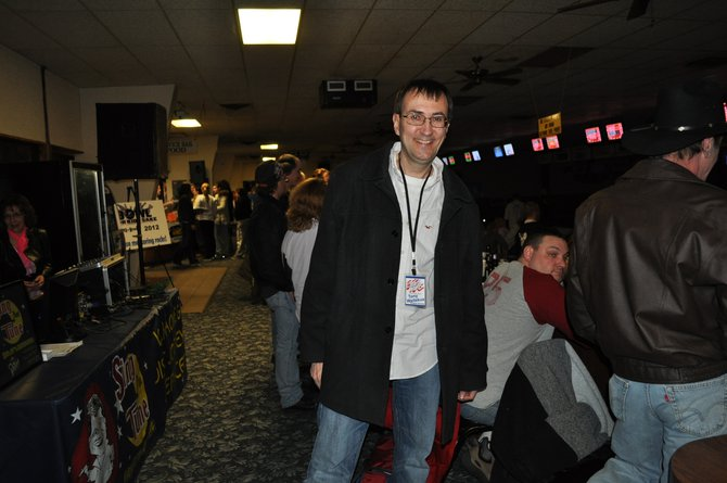 Tony Waitekus at Bowl For Kids Sake Portage  County