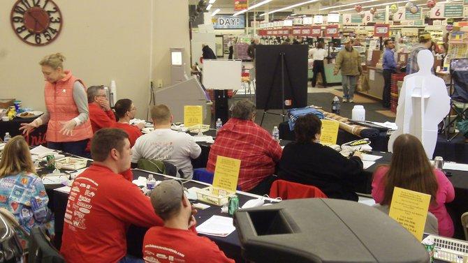 Radiothon volunteers