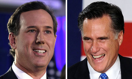 Santorum VS Romney