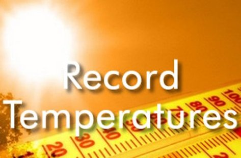 Record-high temperatures