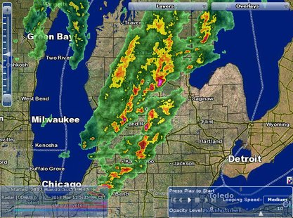 Tornado Watch Kalamazoo County