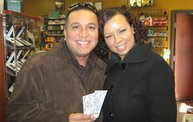 Q106 at Corona Smoke Shop (3-10-12) 4