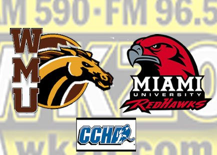 Western Michigan University vs Miami of Ohio inCCha semifinals