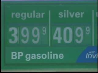 Door County gas stations selling gas for $4 a gallon. (courtesy of FOX 11).