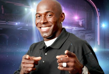 Donald Driver, in a publicity photo for Dancing With The Stars