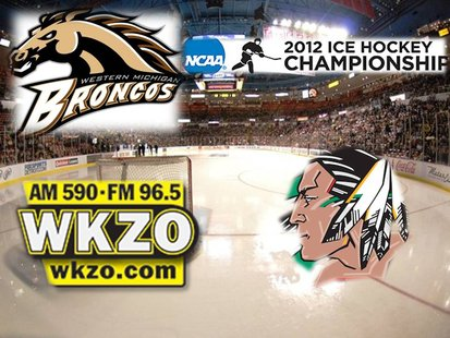 Western Michigan and North Dakota face off Saturday in the West Regional of the NCAA tournament