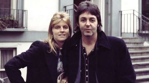 Image courtesy of Paul and Linda McCartney, circa 1980. (Photo by Denis O'Regan/Getty Images) (via ABC News Radio)