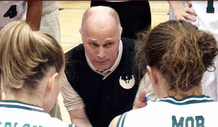 UW-Green Bay women's basketball coach Kevin Borseth (courtesy of UWGB).