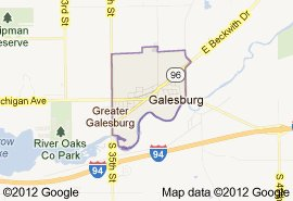 Galesburg, Michigan (courtesy Google Maps)