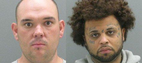 Robert Meeks (L) and Jamie Poledore (R) (photos courtesy Ottawa Co. Sheriff's Dept.)