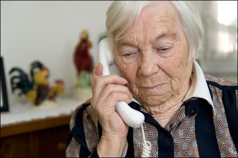 Seniors often more trusting.  (photo courtesy of the FBI)